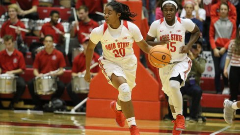 Asia Doss was the first-half hero for Ohio State.