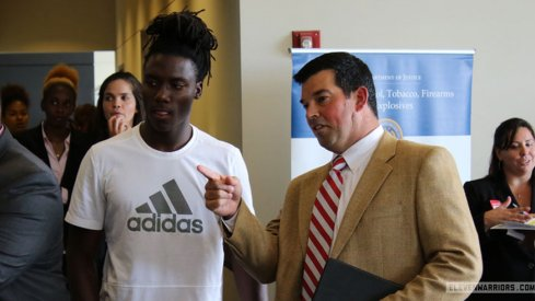 Ryan Day and Urban Meyer are working to keep Emory Jones in the fold.