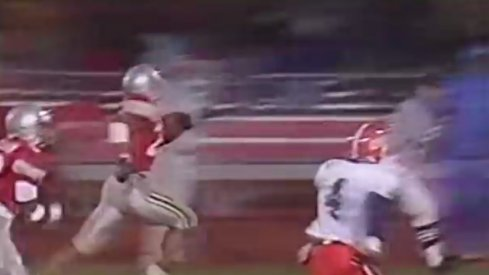 Eddie George sprints past Illinois