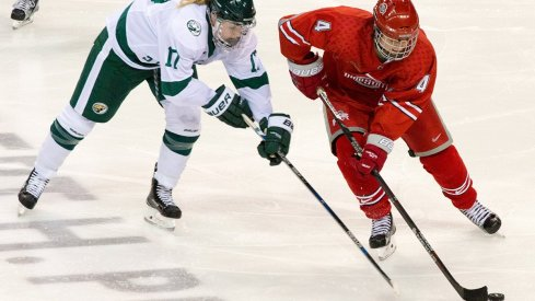 Ohio State women's hockey does battle with Bemidji State this weekend.