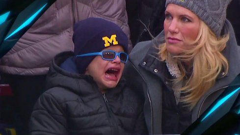 It was a difficult day for the entire Harbaugh family.
