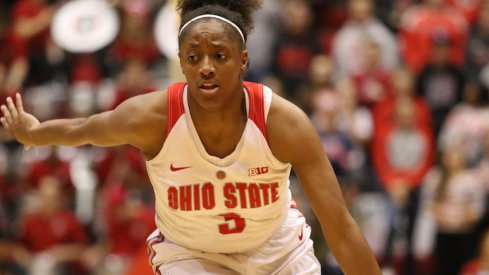 Kelsey Mitchell had a season-high in points.