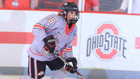 Julianna Iafallo led the Buckeyes with two goals and an assist in their series against Bemidji State.