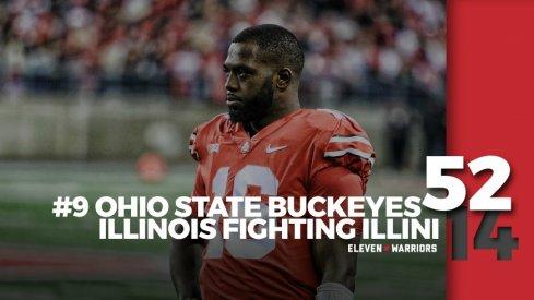 Statagram: Ohio State 52, Illinois 14
