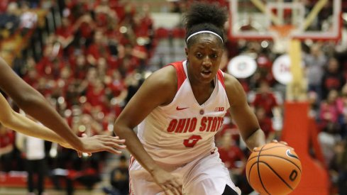 Kelsey Mitchell led Ohio State in scoring once again.