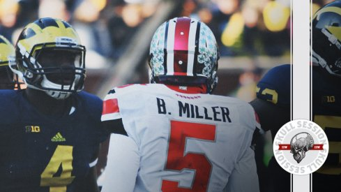 Braxton Miller dances on Michigan for the November 21 2017 Skull Session