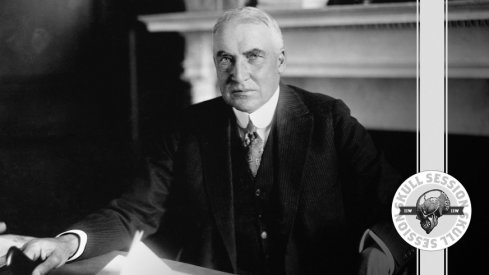 Warren G. Harding prepares to phone the November 23rd 2017 Skull Session