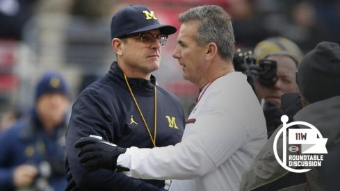Urban Meyer is 60 minutes away from becoming 6-0 against Michigan. (Photo: Joe Maiorana-USA TODAY Sports)