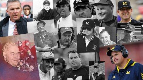 ohio state and michigan coaches