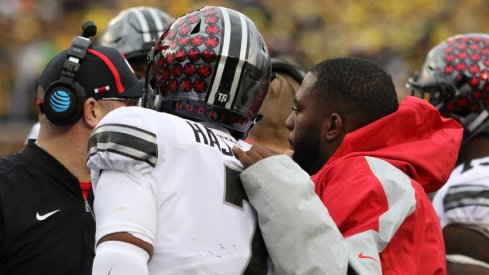 J.T. Barrett and Dwayne Haskins