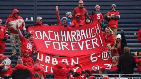 Frank from Toledo strikes again with a sign celebrating Urban Meyer's dominance over Michigan