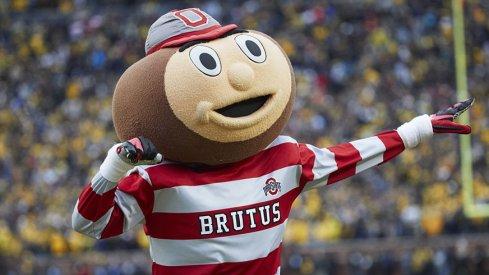 Brutus Buckeye at Michigan Stadium