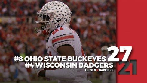 Statagram: Ohio State 27, Wisconsin 21