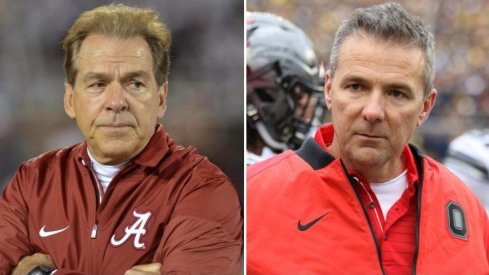 Nick Saban and Urban Meyer both think their squad belongs in the College Football Playoff.