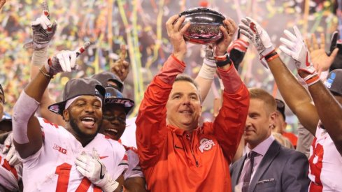 Urban Meyer's squad won the B1G title for the first time in three years.