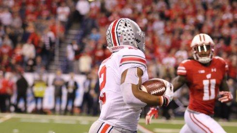 Ohio State running back J.K. Dobbins