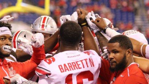 The Ohio State Buckeyes and quarterback J.T. Barrett