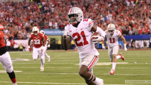 Parris Campbell turned a bubble screen into a 57-yard touchdown.