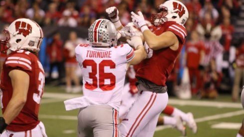 Ohio State linebacker Zach Turnure
