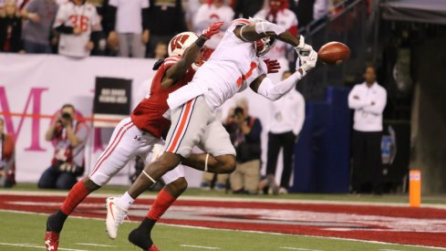 Johnnie Dixon's third quarter drop was one of many plays the Buckeyes probably wish they had back.