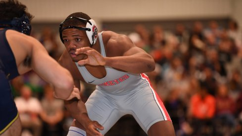Myles Martin starting deep into his opponent's soul, prior to ruining his weekend.