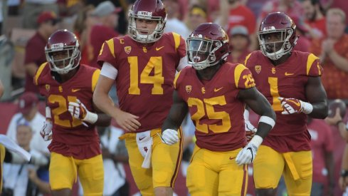 Sam Darnold and his fellow Southern Cal skill players drive the Trojan offense.
