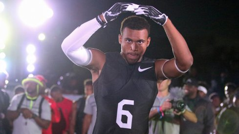 Jaiden Woodbey had a busy weekend checking out USC and Florida State.
