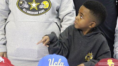 Darnay Holmes' nephew