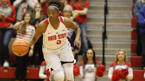 Kelsey Mitchell led the way once again for the Buckeyes.
