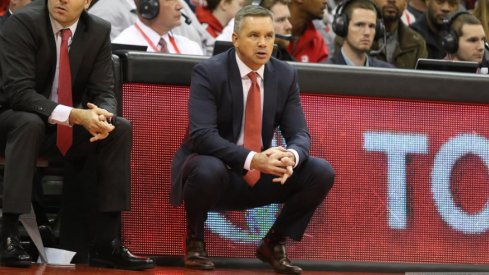 Ohio State head basketball coach Chris Holtmann