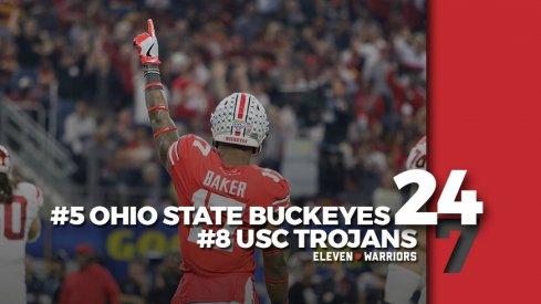 Statagram: Ohio State 24, USC 7