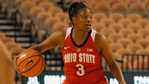 Kelsey Mitchell led the way once again.