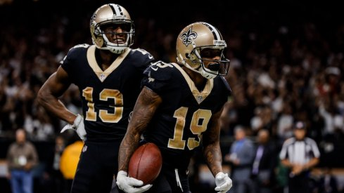 Ted Ginn Jr. and Michael Thomas led the way for the Saints this year.