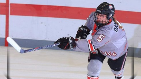 Buckeye forward Charly Dahlquist netted two goals in less than a minute against No. 9 Robert Morris.