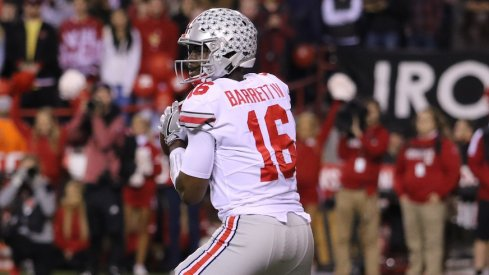 J.T. Barrett is participating in this week's East-West Shrine Game.