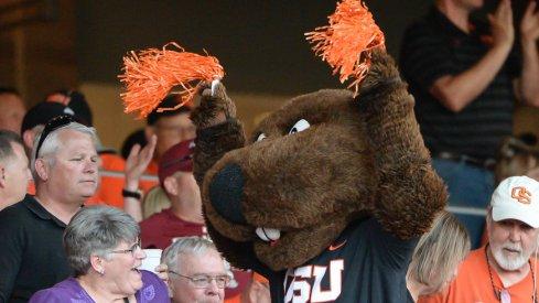 Oregon State mascot Benny Beaver