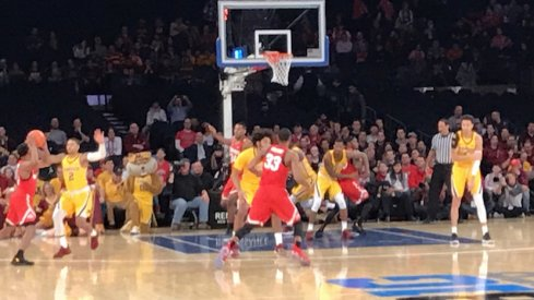 ohio state vs. minnesota at MSG, 2018