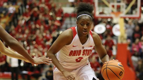 Kelsey Mitchell became the Big Ten's all-time leading scorer.
