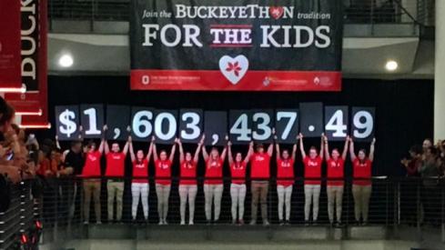 Buckeyethon Raises 1.6 million for cancer research