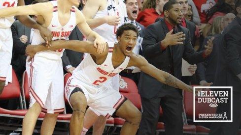 Ohio State men's basketball player Musa Jallow