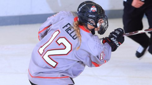 Maddy Field scored the Buckeyes' lone goal in a 2-1 loss to Bemidji State.