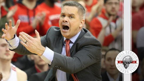 Chris Holtmann calls timeout for the February 20th 2018 Skull Session