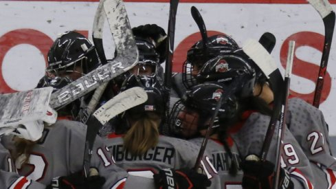 The Buckeyes host the Mavericks in the first round of the WCHA playoffs.