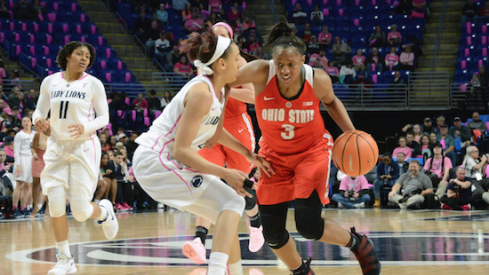 Kelsey Mitchell led the way.
