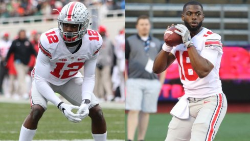 Denzel Ward and J.T. Barrett