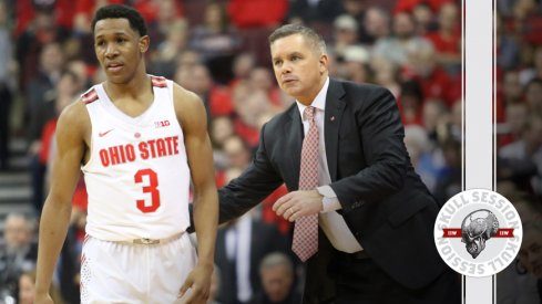 C.J. Jackson and Chris Holtmann talk about the March 1st Skull Session