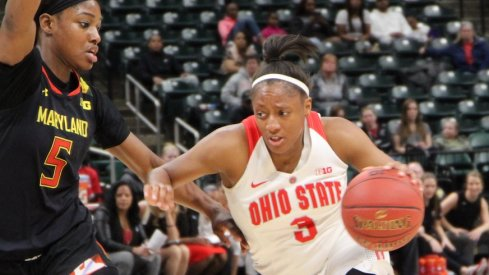 Kelsey Mitchell led the way for the Buckeyes.