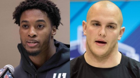Denzel Ward and Billy Price
