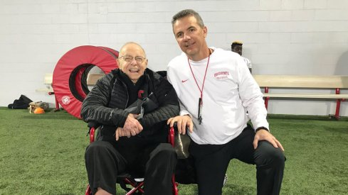 Urban Meyer and Earle Bruce