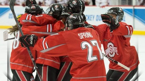 The Ohio State Buckeyes defeat Boston College and advance to their first-ever NCAA Frozen Four.